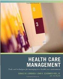Health Care Management John R. Schermerhorn