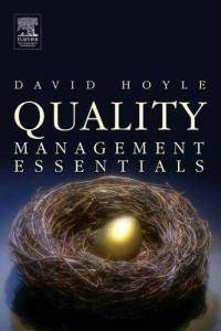 Quality Management Essentials David Hoyle