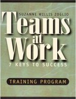 Teams at Work: 7 Keys to Success Suzanne W. Zoglio