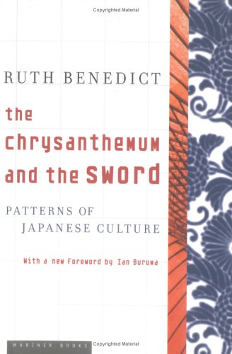 The Chrysanthemum And The Sword Ruth Benedict