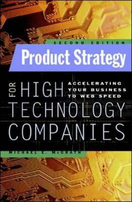 Product Strategy for High Technology Companies Michael McGrath