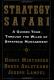 Strategy Safari Henry Mintzberg, Bruce Ahlstrand & Joseph Lampel
