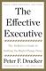 Effective Executive Peter Drucker